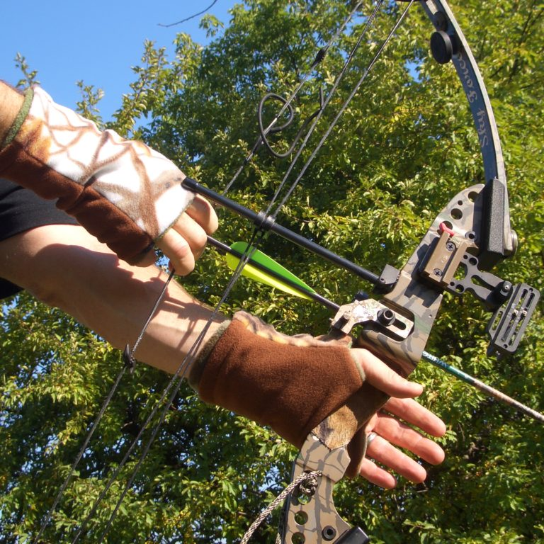 Turtle Gloves Hunting Gloves Reversible Camo Seasons