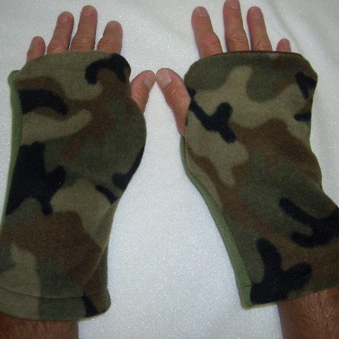 Turtle Gloves Hunting Gloves Reversible Camo Seasons