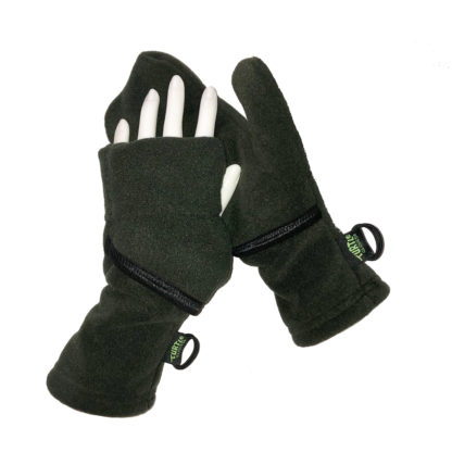 Turtle Gloves Turtle-Flip Mittens Weather Protect Heavyweight Deep Woods