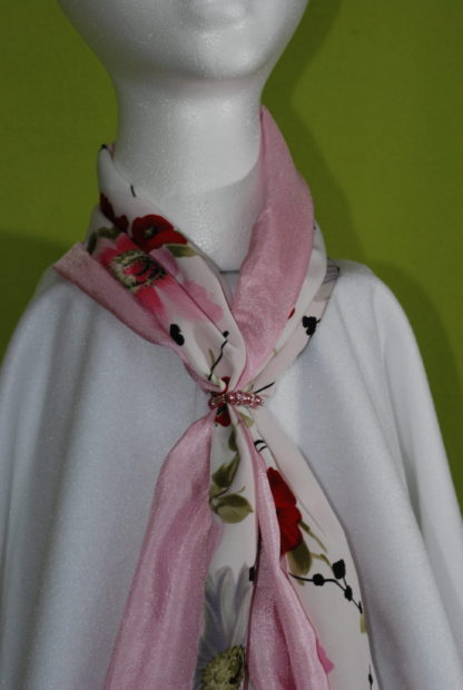 Reversible Scarf Mother's Poppy