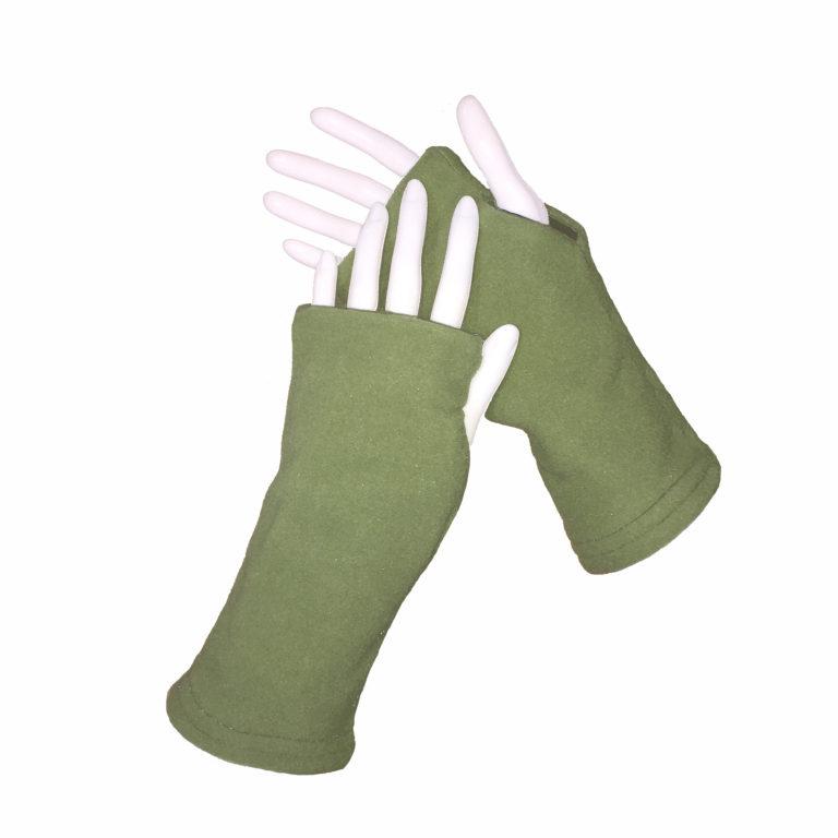 Turtle Gloves REVERSIBLE Fingerless WR 180 olive secondary shell