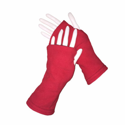 Turtle Gloves REVERSIBLE Fingerless WR 180 red secondary shell