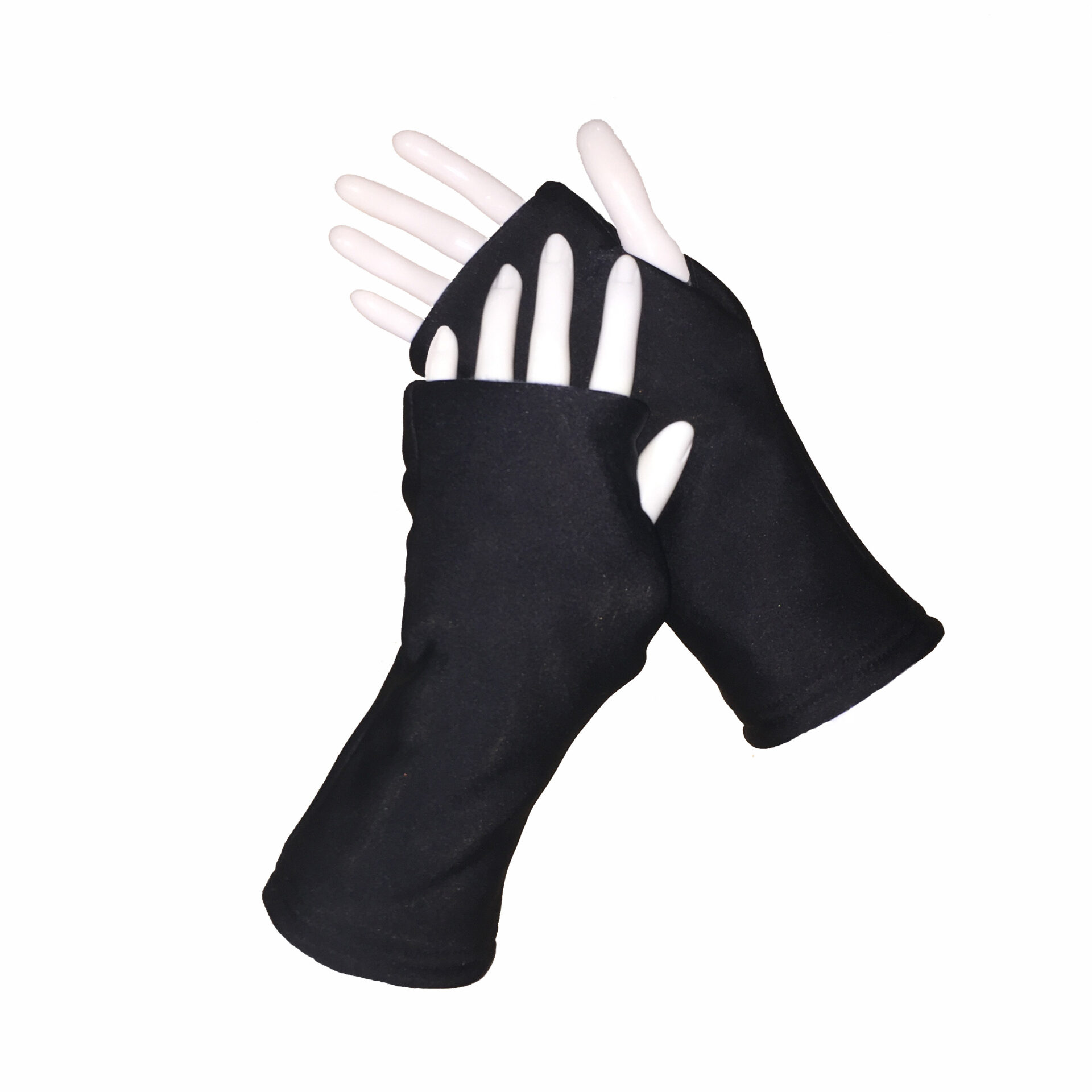 Turtle Gloves REVERSIBLE Fingerless WR 360 black primary shell