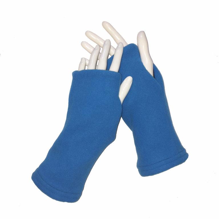 Turtle Gloves Fingerless Gloves Reversible Fleece Gloves