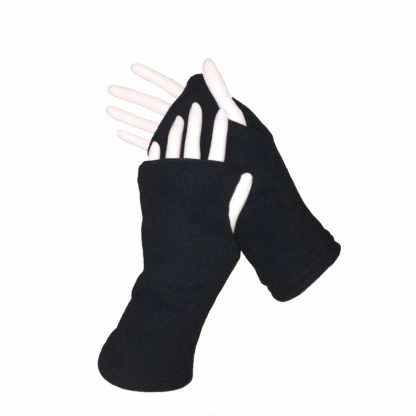 Turtle Gloves REVERSIBLE Fingerless WR 360 black secondary shell