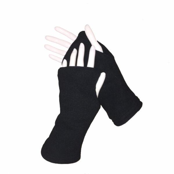 Turtle Gloves REVERSIBLE Fingerless WR 360 black secondary shell