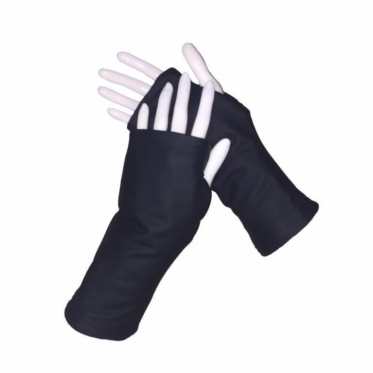Turtle Gloves Fingerless WR 360 black seconday shell