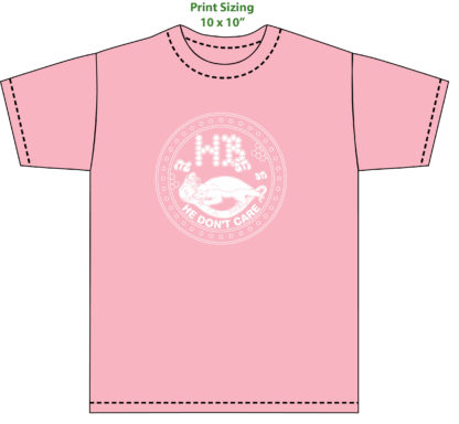 honey badger tshirt pink angry bees
