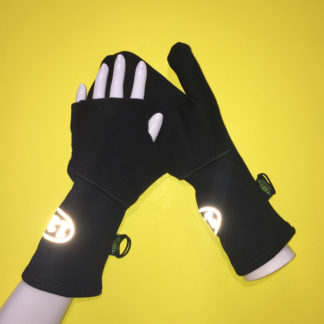 Turtle Gloves Turtle-Flip Mittens with reflective
