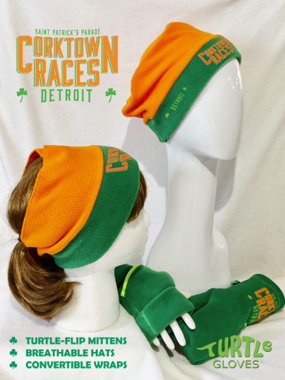Corktown Races Official Turtle Gloves DETROIT