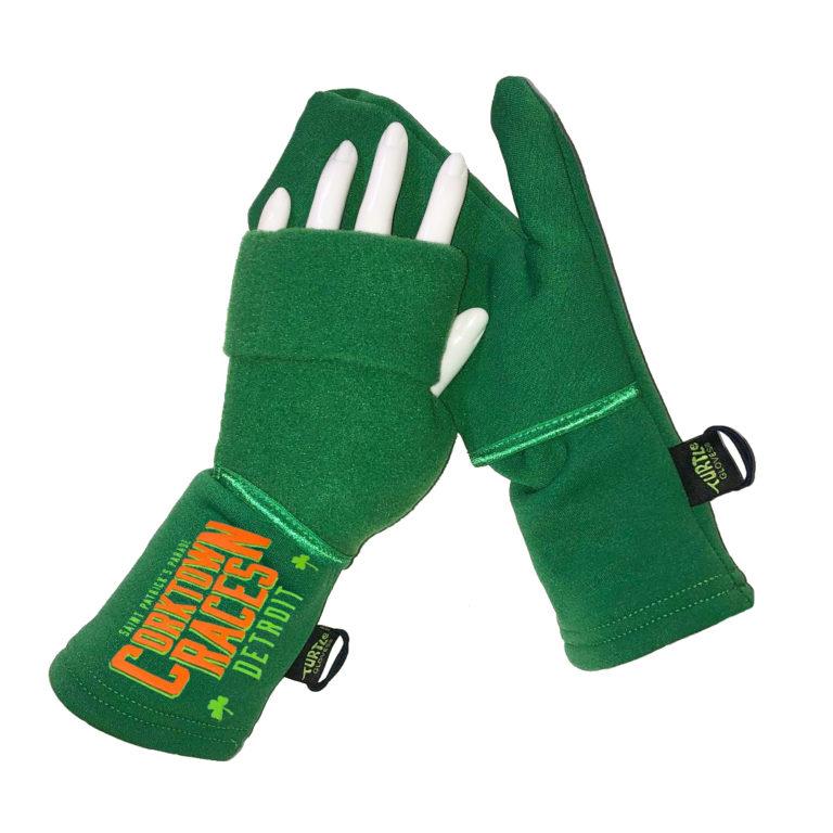 Corktown Races Official Turtle Gloves DETROIT