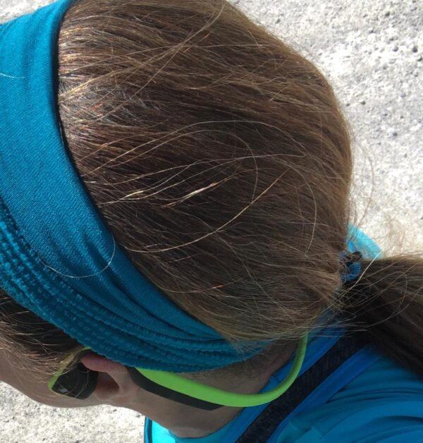 Running Hat Wrap with Hair Tie