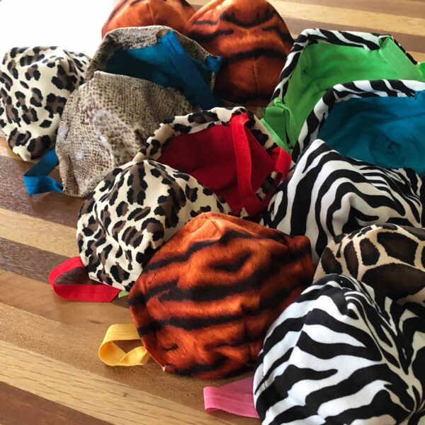 Face Mask Fabric Animal Collection