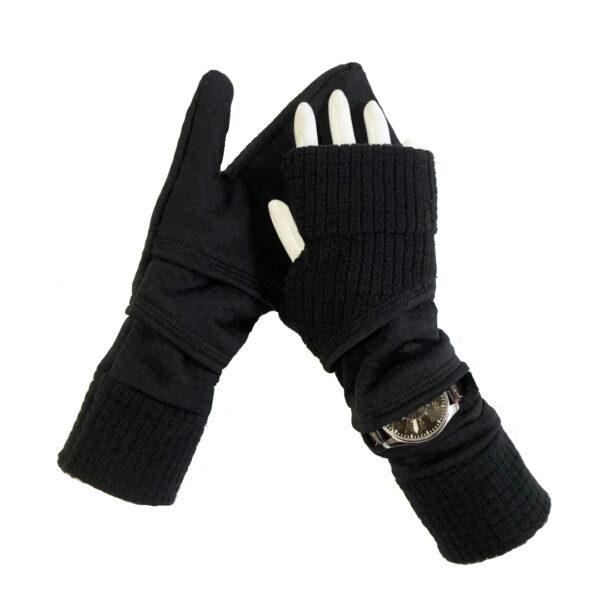Turtle Gloves Turtle-Flip Mittens LIGHTWEIGHT with watch gusset RIGHT WRIST