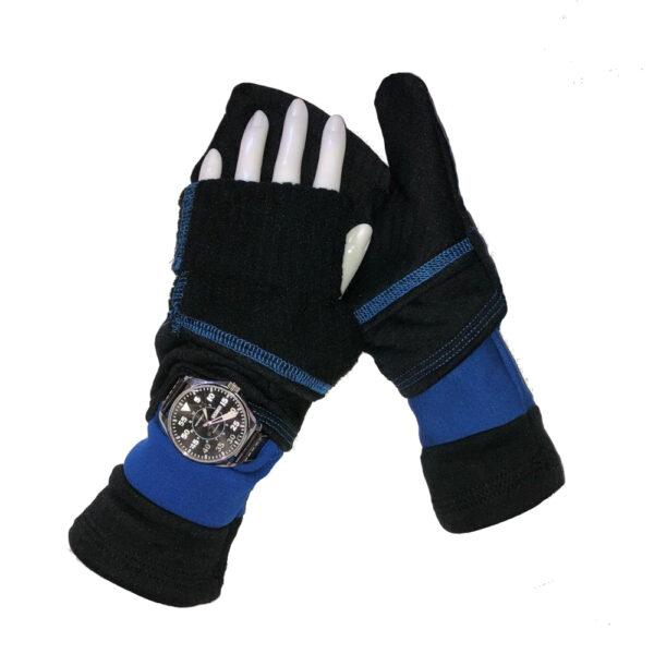 Turtle Gloves Turtle-Flip Mittens LIGHTWEIGHT with watch gusset