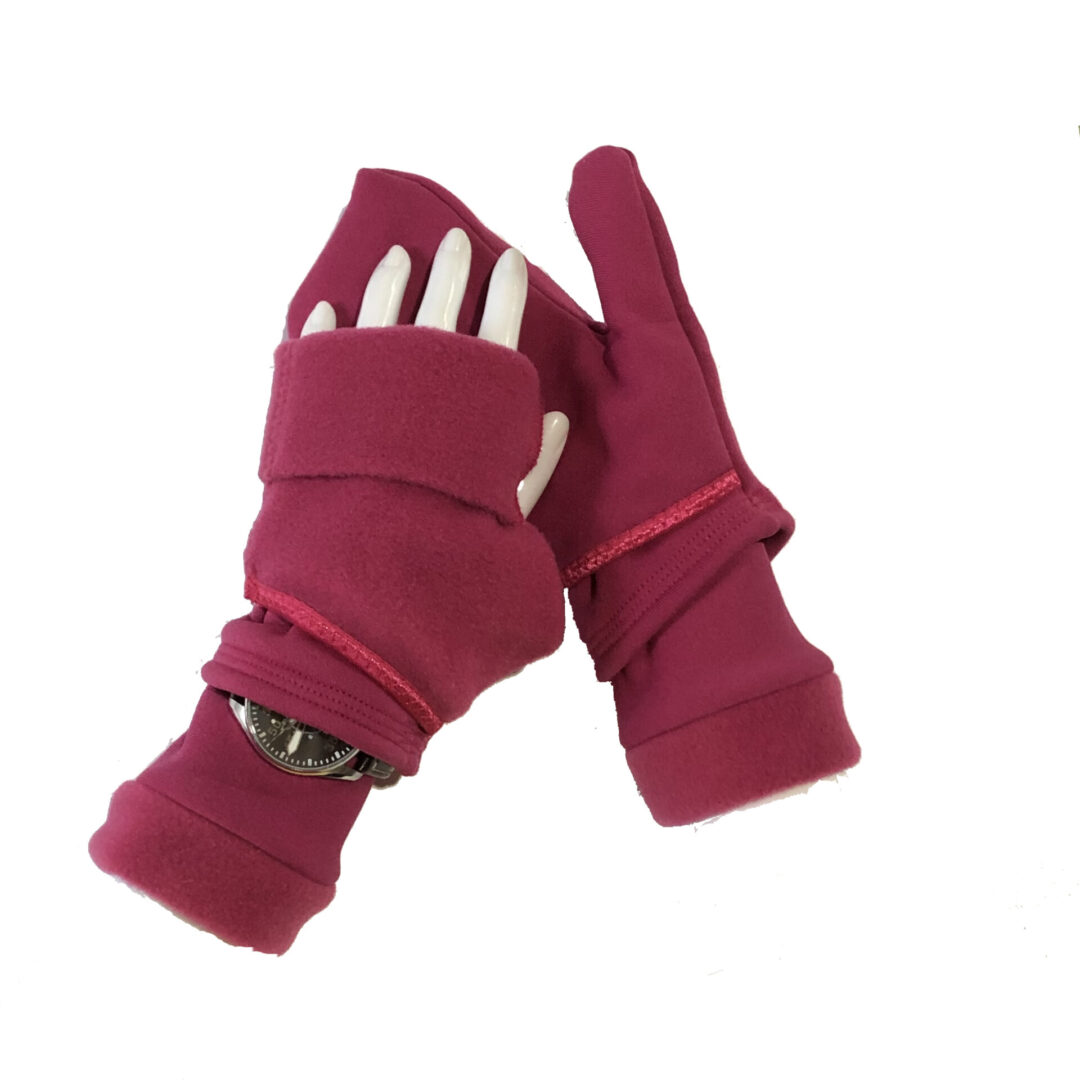 Turtle Gloves Turtle-Flip Mittens MIDWEIGHT with watch gusset